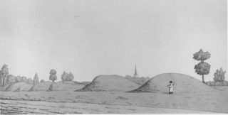 The Six Hills, Stevenage c.1800 | Hertfordshire Archive & Local Studies