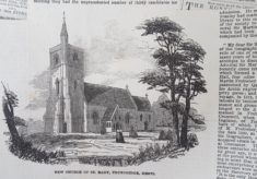 St Mary Thundridge article 1853