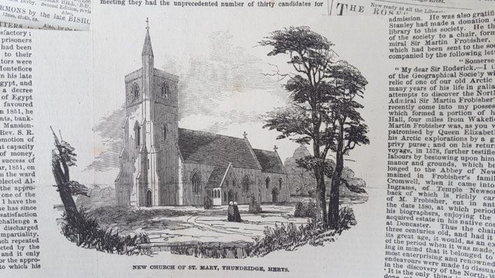 Thundridge St Mary Chuch