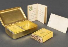Christmas tins & cigarette cases