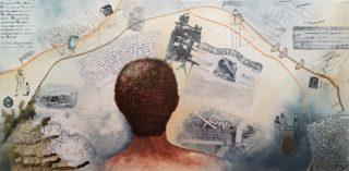 Roger Britten | Stacey Leigh Ross, Facebook: @byleighart Website: byleigh.com