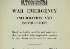 WW2 Information Leaflets