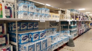 Plenty of loo roll