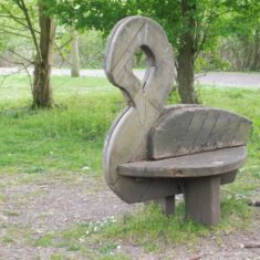 The swan seat | Colin Wilson