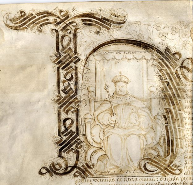 Henry VIII Ex Box B20 | copyright: Hertfordshire Archives and Local Studies