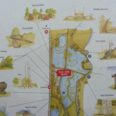 Map of the northern part of the sculpture  trail | Lee Valley Regional Park Authority