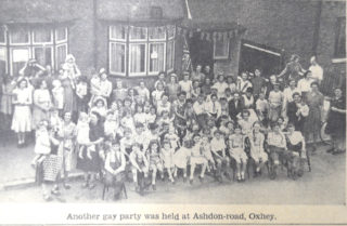 Victory Party, Oxhey West Herts Post | Hertfordshire Archives and Local Studies
