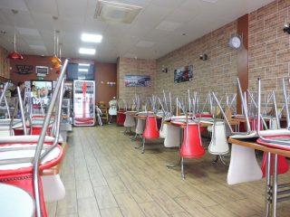 Cherries cafe interior. 3 Jun 2020 | Colin Wilson