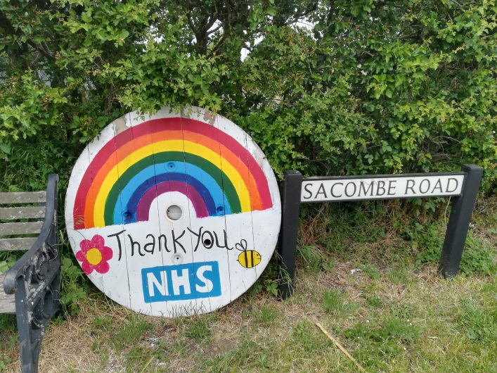 Thank you NHS Sacombe Road