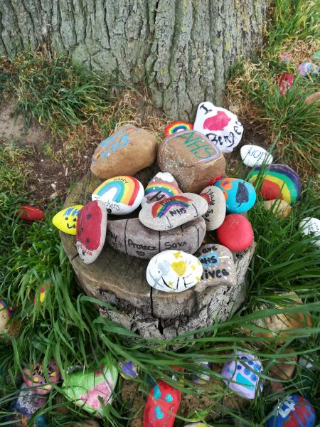 Painted Stones, celebrating NHS