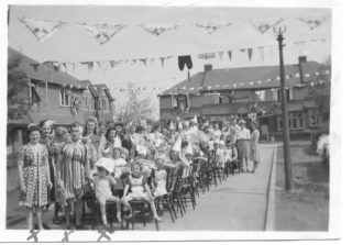VE Day Street Party Glemsford Drive, Harpenden