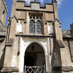 St Mary's Church Braughing closed, May 2020 | Sheila White
