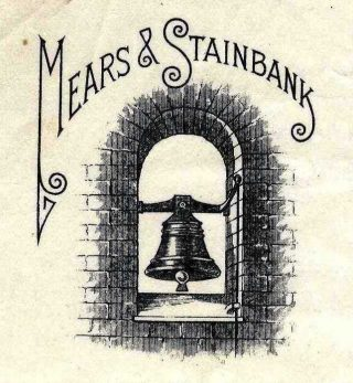 The treble was recast in 1799 by John Bryant of Hertford, his foundry was acquired by Mears & Stainbank of Whitechapel in 1825