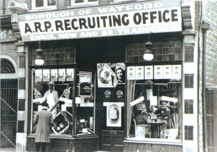 ARP Recruiting Office in Watford | Hertfordshire Archives and Local Studies