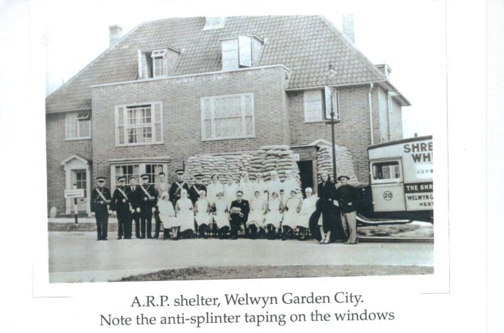 ARP Shelter in Welwyn Garden City | Hertfordshire Archives and Local Studies