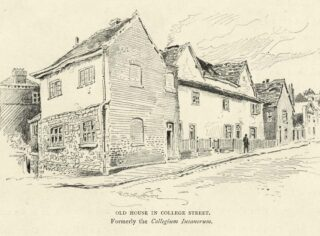 The former Collegium Insanorum building is no longer standing   Hertfordshire Archives and Local Studies (Local Studies Library Collection)