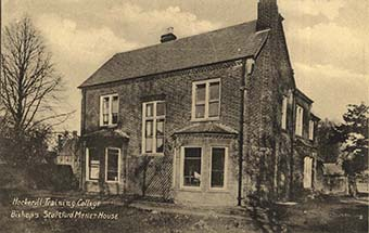 Postcard of Menet House in the 1920s | Menet House, c1920s (HALS ref DE/X/840)