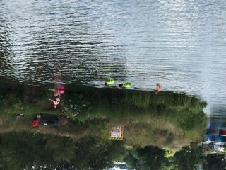 People swimming in River Lee | Geoff Cordingley