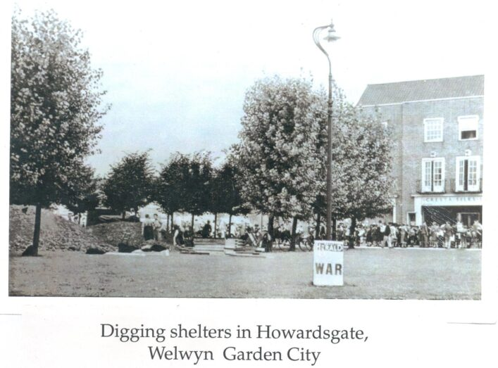 Digging Shelters in Welwyn Garden City | Hertfordshire Archives and Local Studies