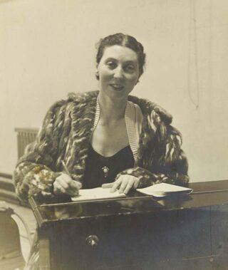 Elizabeth Poston in 1948 | Hertfordshire Archives and Local Studies (DE/Po/3/1)
