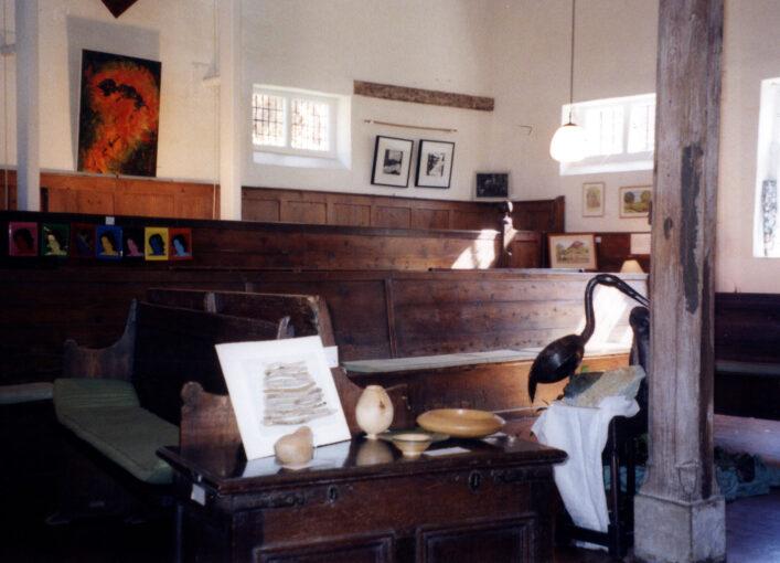 Inside Hertford Quaker Meeting House | N Connell (HALS ref DEX/1024/1/66/3/19)