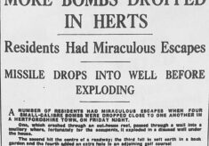 Bombs over Herts