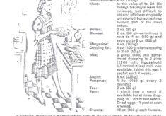 WW2 Rationing & Recipes