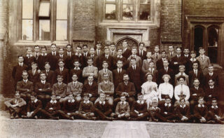 Group school photo 1912 | Reproduced by permission of Berkhamsted School, 2020