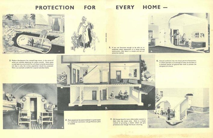 Brochure advertising different types of shelters | HALS (ref UDC11/30/6)