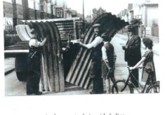 Unloading Anderson Shelter in Watford
