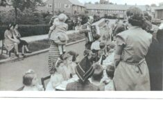VE Day Party in Sandpits Road, WGC