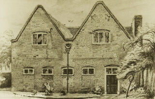 Postcard of the Friends Meeting House, c1950s