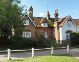 Standon Church End cottages. Aug 2020 | Colin Wilson