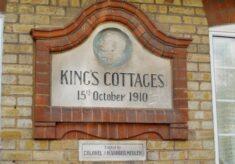 Bishops Stortford. King's Cottages