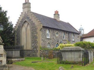 Pagitt's almshouse; the end nearer the church. Jan 2017 | Colin Wilson