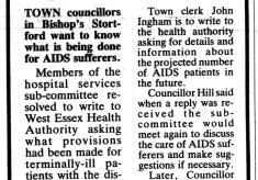 AIDS in Hertfordshire