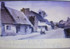 Aldbury. Glad's Cottage and Town Houses