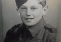 Frederick Charles Harvey, died in WW2 aged 16