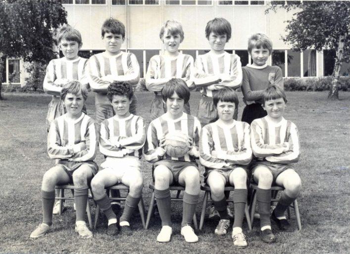 St Catherine's JMI School (Ware, Herts) football team, 1970-71