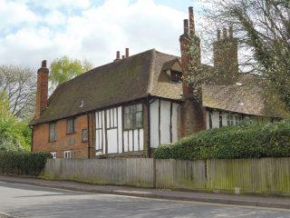 The Biggin as seen from Biggin Lane. May 2017 | Colin Wilson