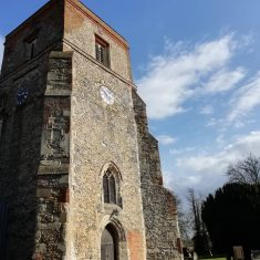 St Leonard's church tower in 2021, colour photo 2021 | Diane Lynch
