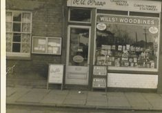 Easter at 5 High Street Cheshunt 1959