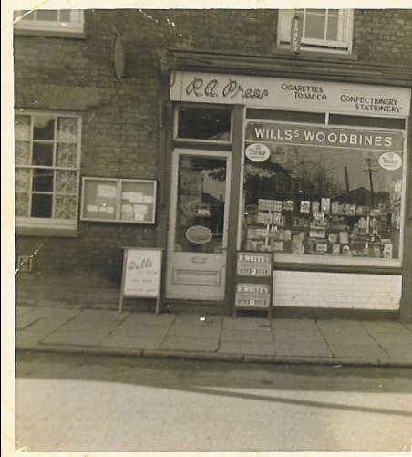Sweet Shop at 5 High Street Cheshunt 1959