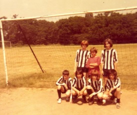 Ware Lions FC, Ware Week 6-a-side champions, Hoe Lane recreation ground, 1970s