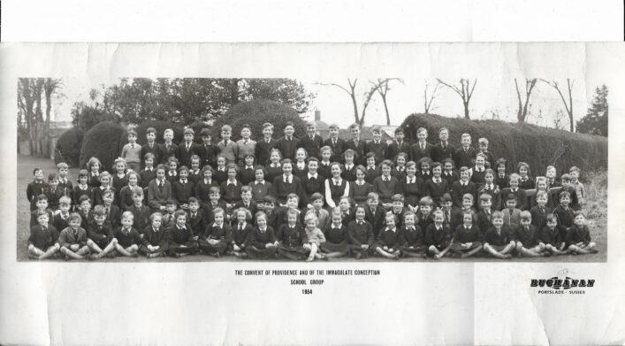 Convent of Providence, School Photo 1954