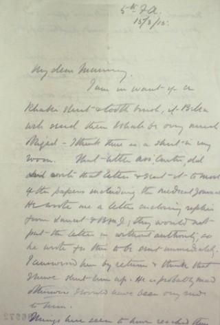 Letter 86972   Hertfordshire Archives & Local Studies