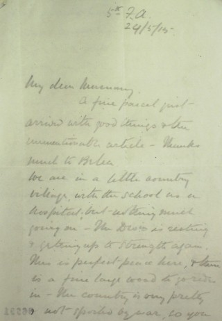 Letter 86991 | Hertfordshire Archives & Local Studies