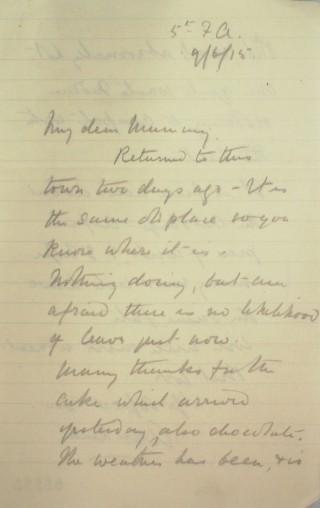 Letter 86995   Hertfordshire Archives & Local Studies