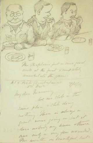 The Letters of Arthur Martin-Leake October 1915