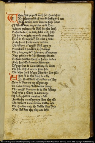 Chaucers Canterbury Tales